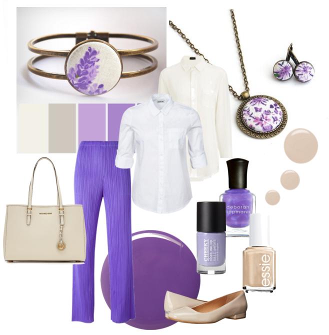 lila polyvore