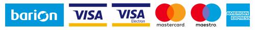 Az online fizetést a Barion Payment Zrt. biztosítja, MNB engedély száma: H-EN-I-1064/2013